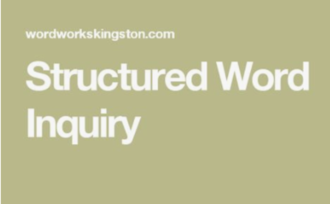 structured word inquiry it s not either or it s also dr